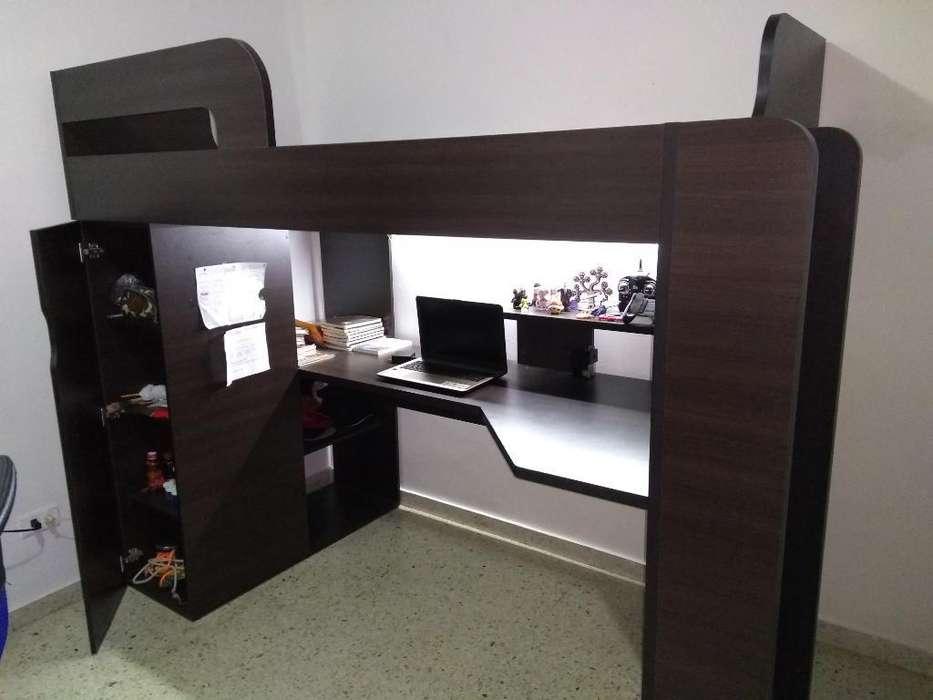Lindo Camarote con <strong>escritorio</strong>