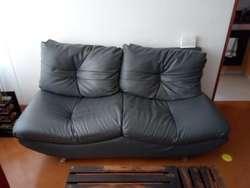 Mueble Moderno Tipo Labio, Color Gris