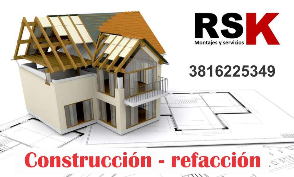 CONSTRUCCIÓN Y REFACCIÓN DE CASAS