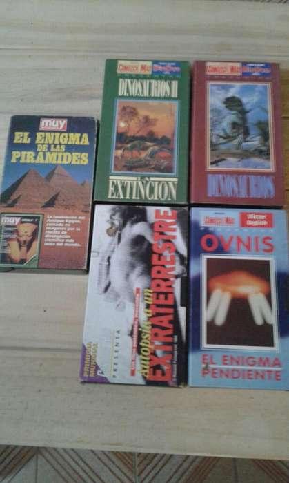 Cassette en Vhs Coleccion Documentales