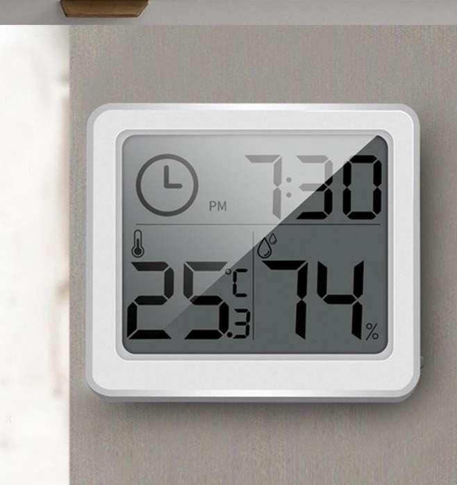 Reloj Termometro Higrometro Humedad Nuevo