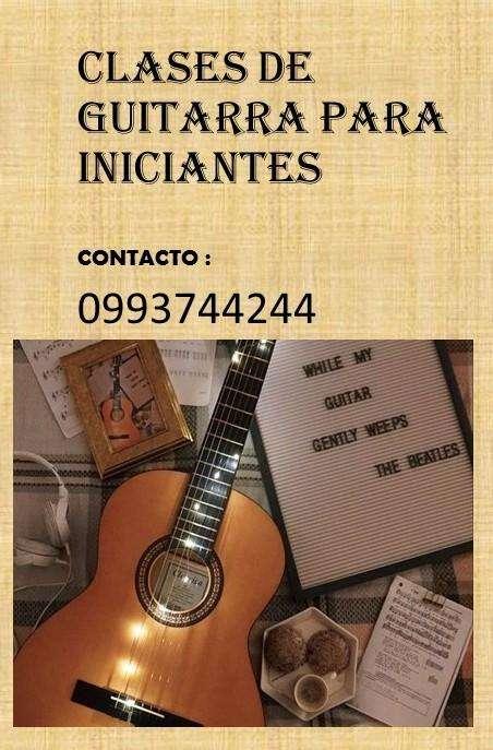 Clases de guitarra para iniciantes