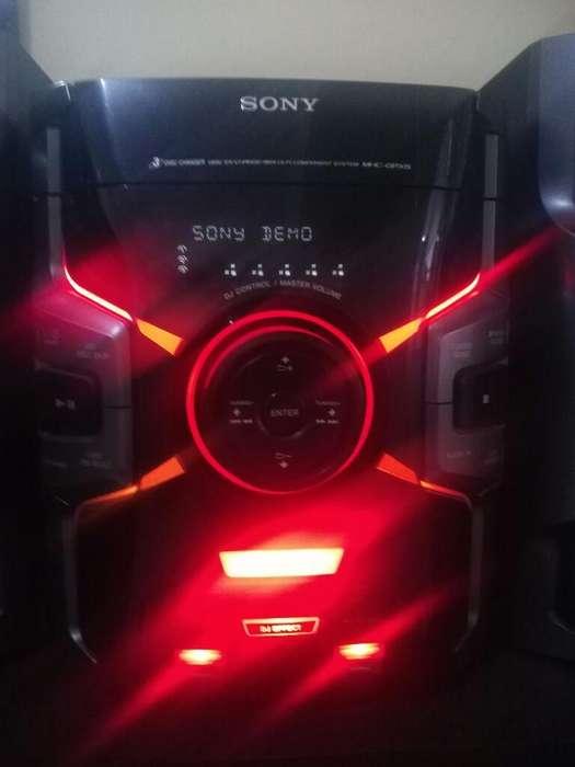 Super Potente Equipo Sony Bluetooth Usb