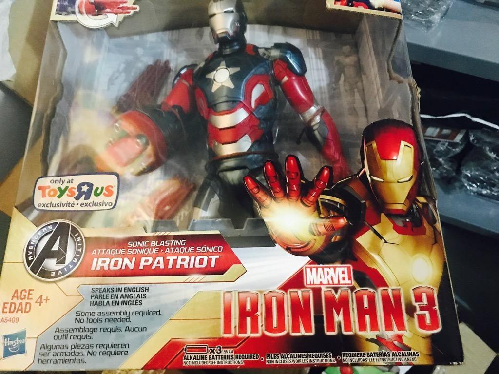 Iron Man Electronico de Coleccion ATENCION COLECCIONISTAS