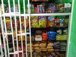 Vendo Negocio Para Trasladar, completo y Equipado con variedad de productos Comestibles, aseo y Papelería