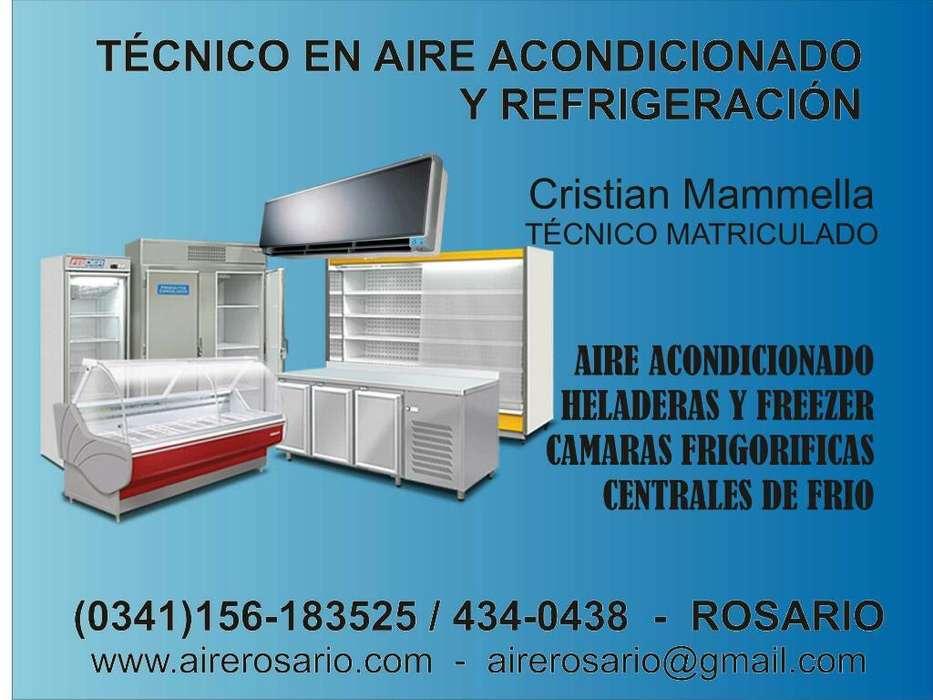 Reparación de heladeras comerciales, freezer, exhibidora, camara frigorifica
