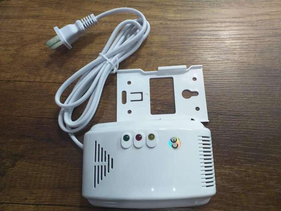 detector de gas/ sensor de gas glp.alarma incendio.bomberos
