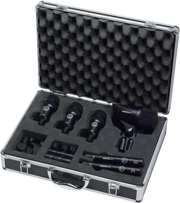 AKG set de 6 micrófonos para batería, nuevo