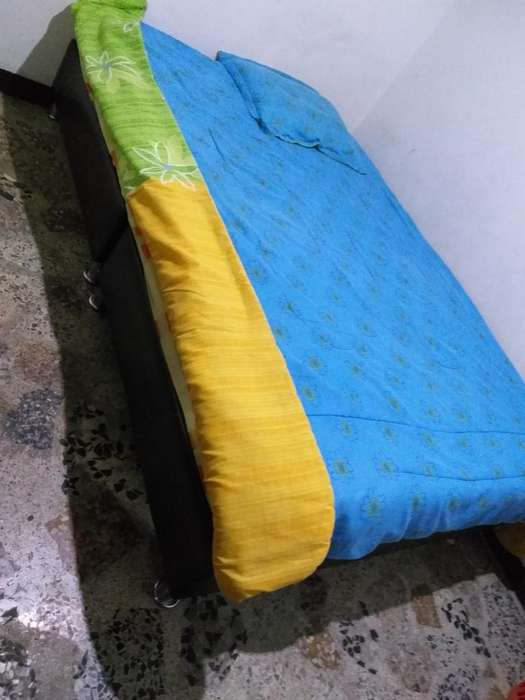 Base Cama Mas Colchon 1.40