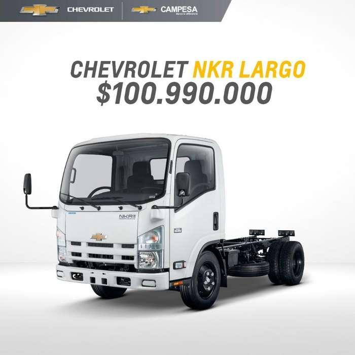 Chevrolet Nkr Modelo 2020 con Frenos Abs