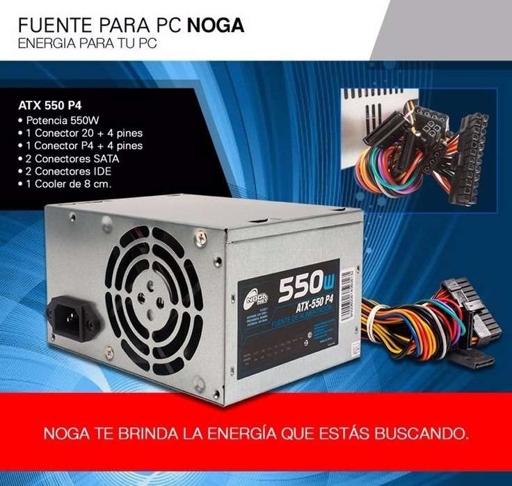 Fuente Noga 550 W <strong>pc</strong>