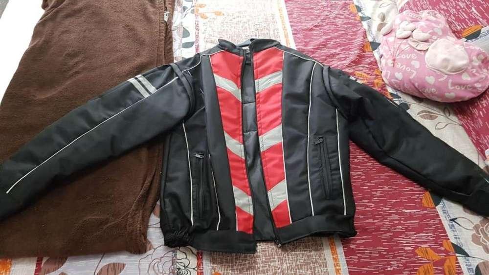 chaqueta para motociclista