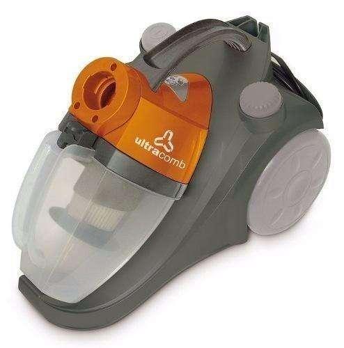 Aspiradora Ultracomb 1600w Sin Bolsa Filtro Hepa
