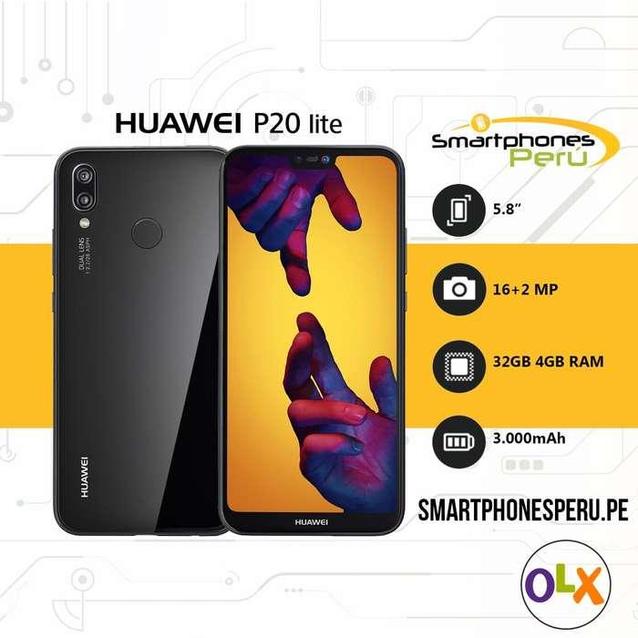 Celulares Huawei P20 Lite 32GB • Libre de Fabrica • Smartphonesperu.pe
