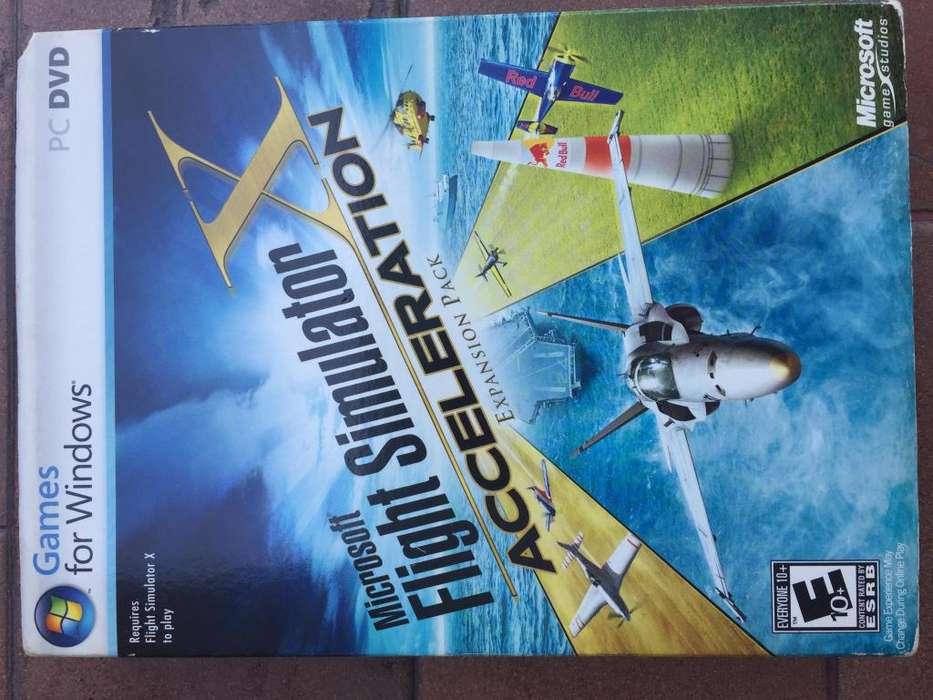 FLIGHT SIMULATOR X ACCELERATION PC