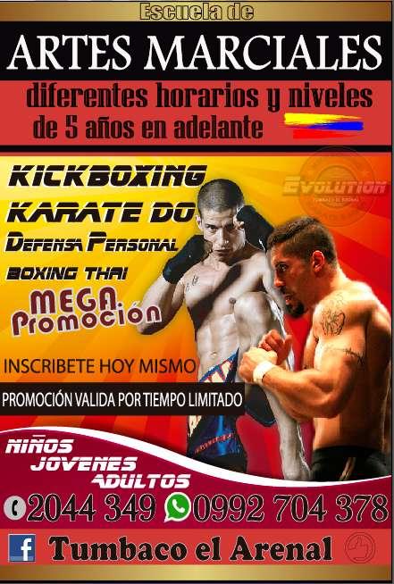 Vacacionales Evolution <strong>arte</strong>s Marciales Tumbaco el Arenal