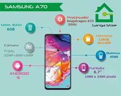 Samsung A70 Tienda Nuevo Libre de Fábric