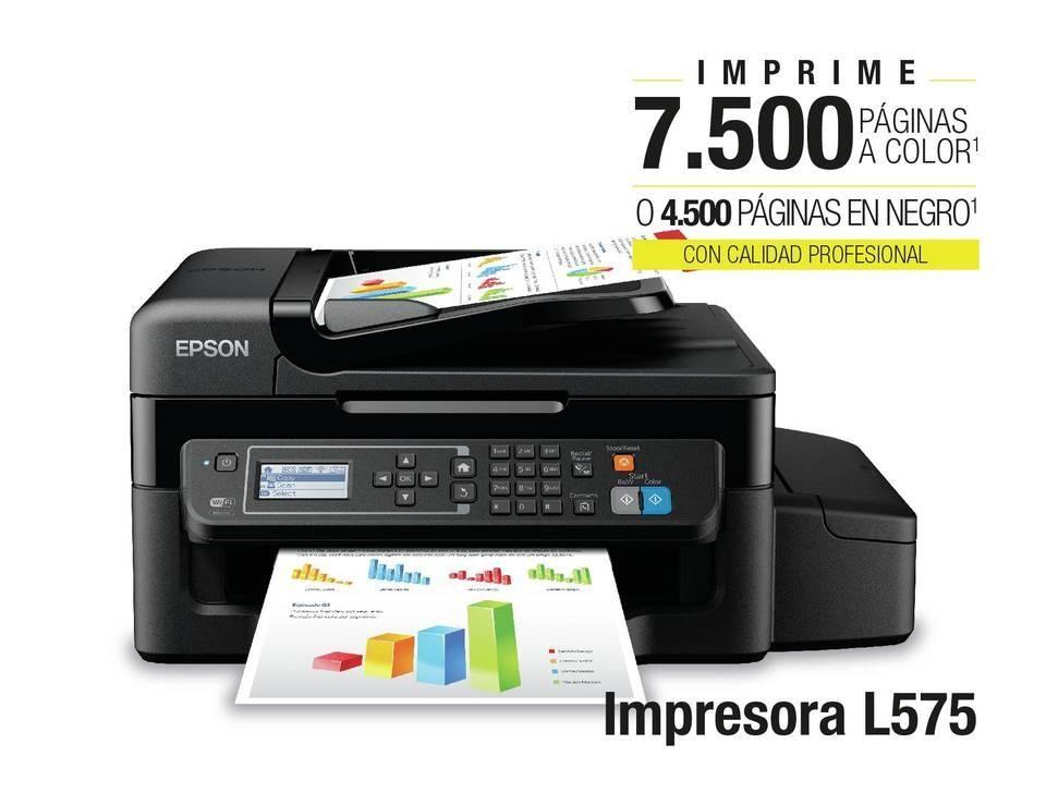 NUEVA IMPRESORA EPSON L575