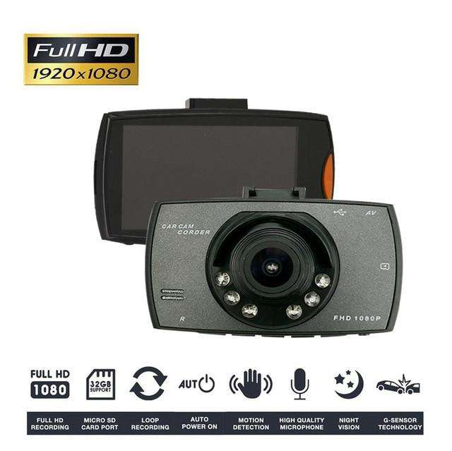 Camara Auto Dvr Doble Cam Full Hd Micro Sd Lcd Nueva - Garantizada!!