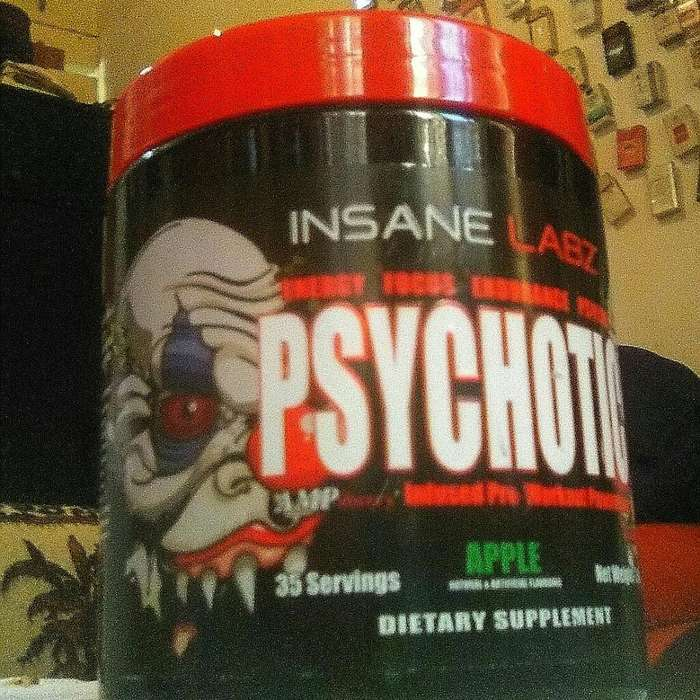 Pre Workout Psychotic