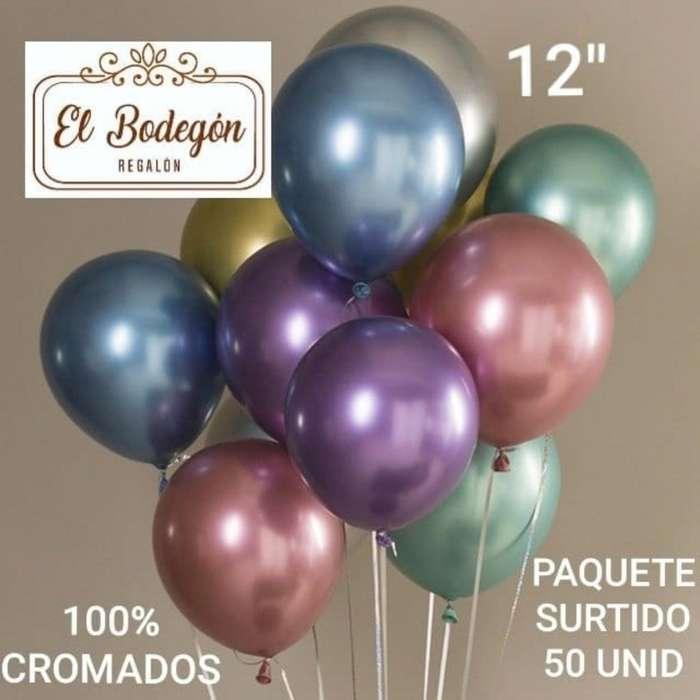 Globo Cromado #12