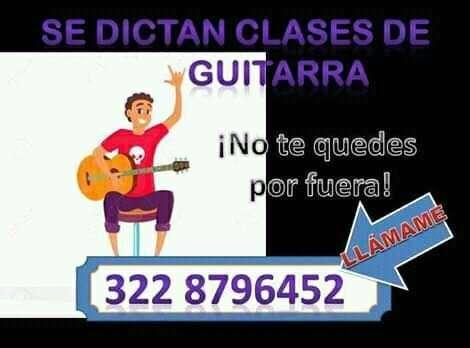 Clases De Guitarra Y Musica En la Ciudad de Tunja Boyaca.