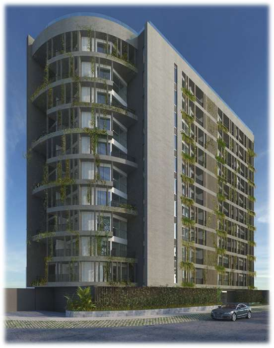Moderno proyecto en San Borja kx1432