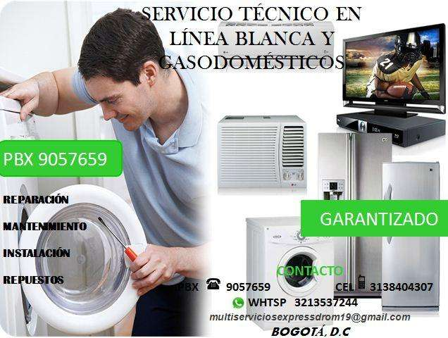 Reparacion de lavadoras neveras calentadores y televisores PBX 9057659