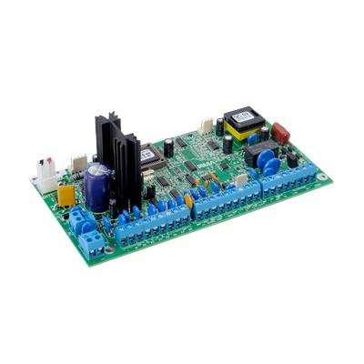 Tarjeta de Control de panel de Alarma 8 a 16 zonas híbrido. Opción de Comunicación Radio/Telefono/IP/GSM
