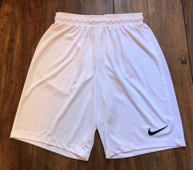 Short Nike Blanco Futbol talle L nuevo