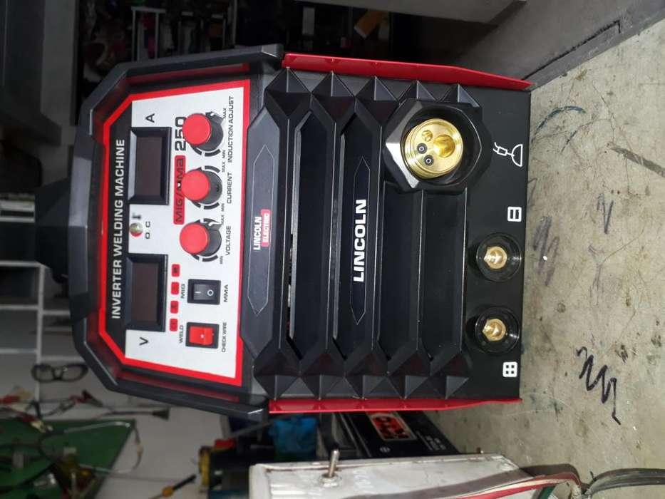 Equipo soldadura inversor 250 amp mas mig con todos sus accesorios y magnometros nuevo
