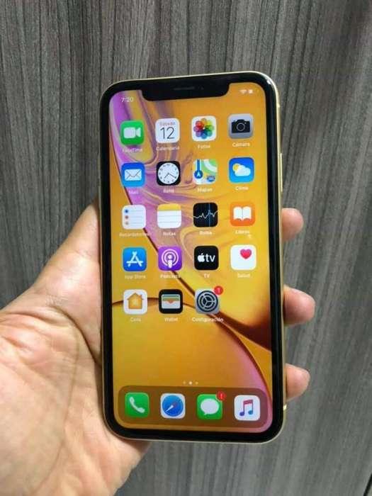 iPhone Xr Amarillo 64 Gb Garantía Apple