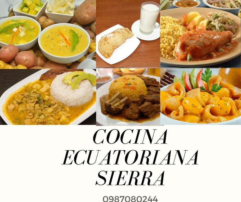 CURSO COCINA NACIONAL SIERRA