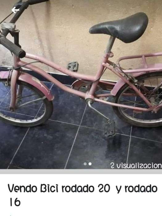 Vendo Bicicicleta Asi Tal Cual Se Ve La
