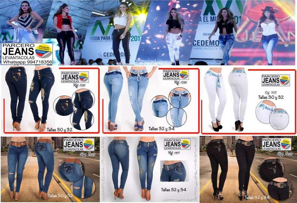 f90bd1f6ab Jeans Colombiano Levantacola Verdadero Remato Stock A S  90