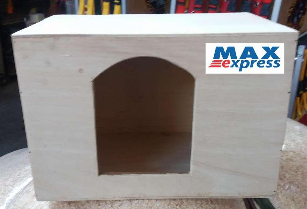 Nido Casa Madriguera 30x19x21 para Conejos Enanos