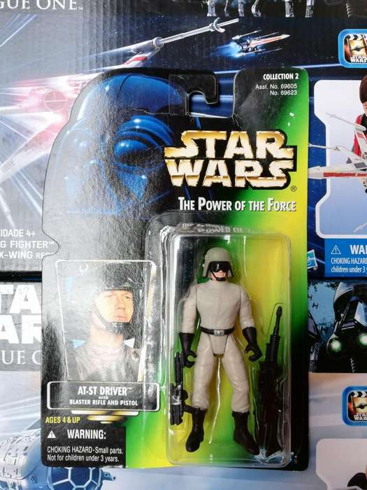 Star Wars The Power Of The Force - AT-ST DRIVER - Figura Kenner
