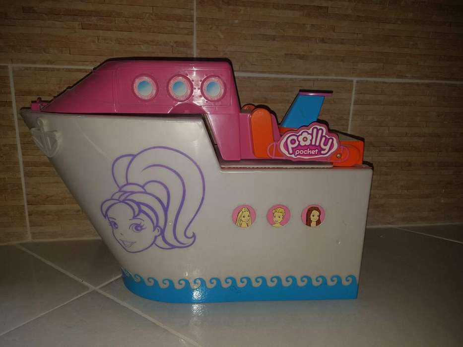 POLLY POCKET CRUCERO Y LOTE