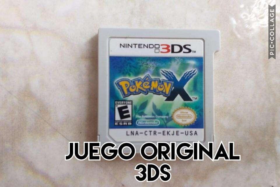 juego original nintendo 3ds pokemon x