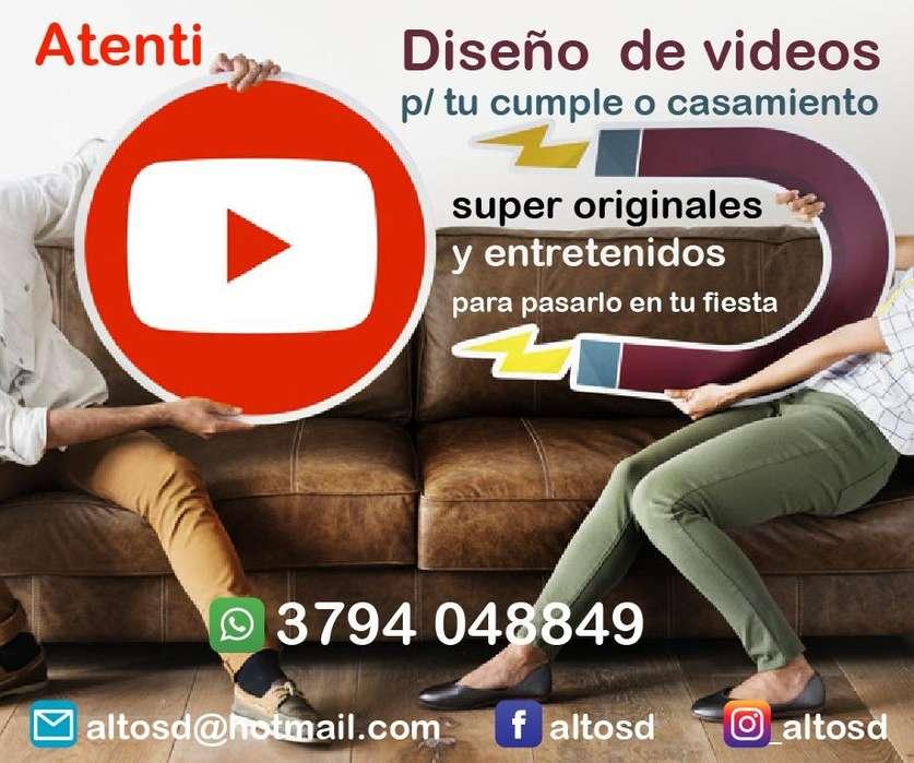 VIDEOS P/ 15 AÑOS O CASAMIENTOS