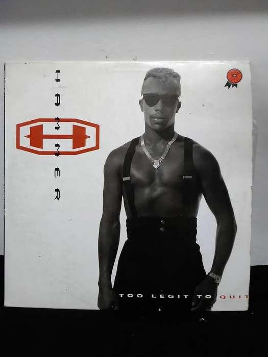 LP ORIGINAL MC HAMMMER 1991 Too Legit To Quit Capitol Records