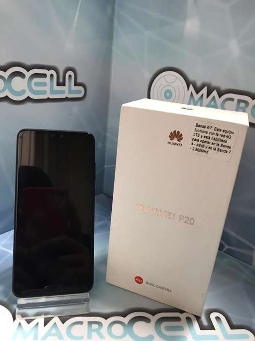 Vencambio Huawei P20 128gb,color Negro