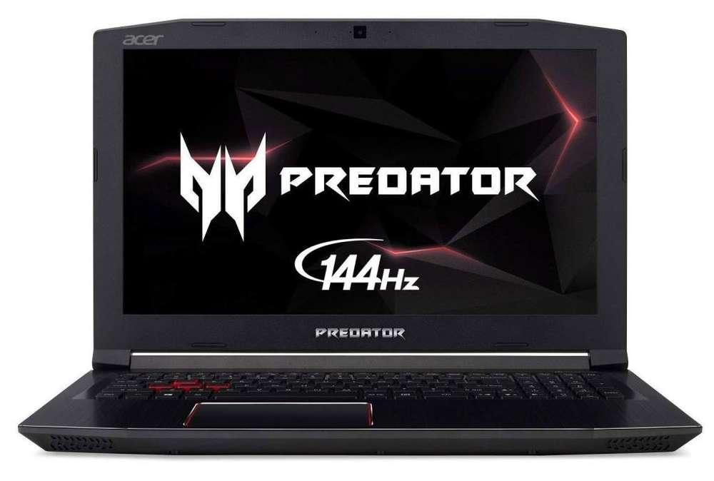 Acer Predator Helios 300 Intel I7 Gtx 1060 6gb 16gb Ddr4 256