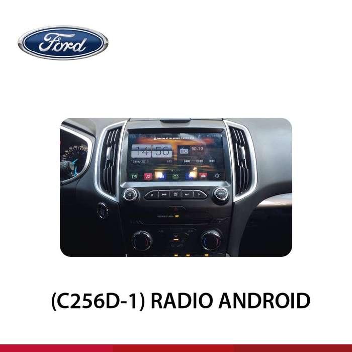 RADIO ANDROID CON SYNC FORD EDGE
