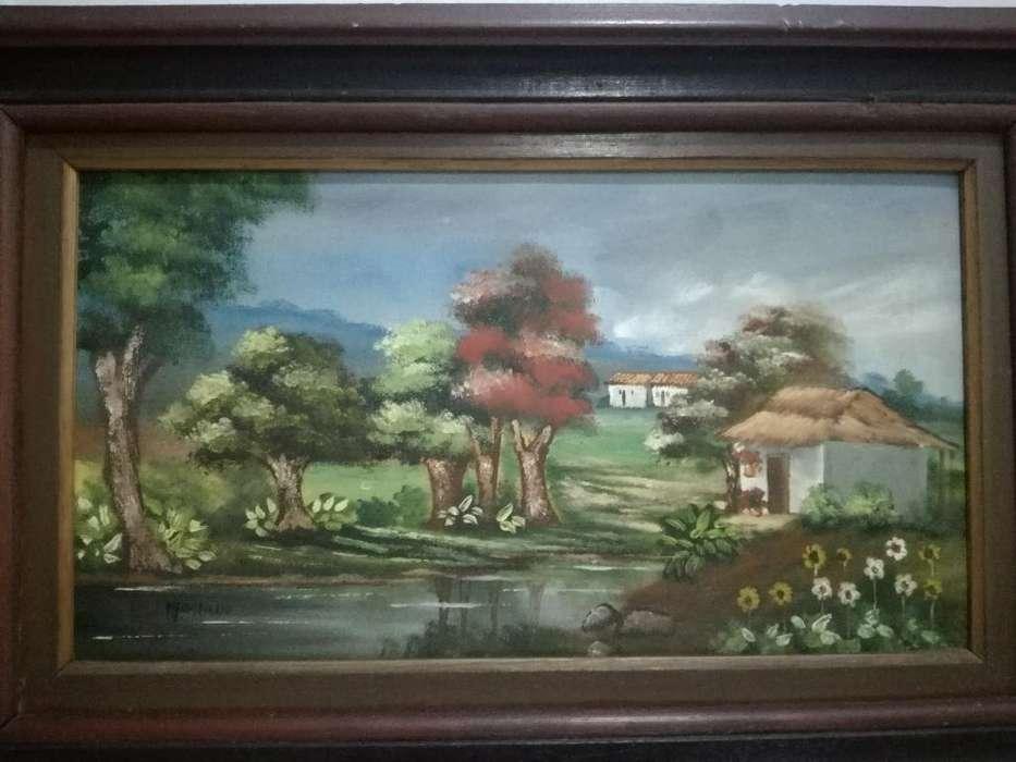 Cuadros en Pintura Al Oleo 65x39