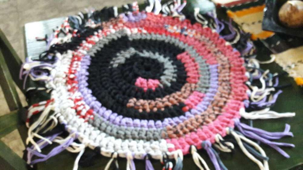 <strong>alfombra</strong>s a Crochet.