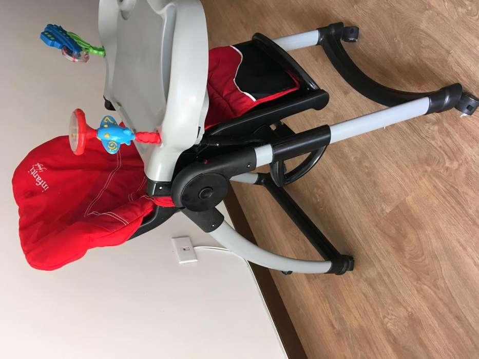 linda silla de bebes para comer Infanti Funcional