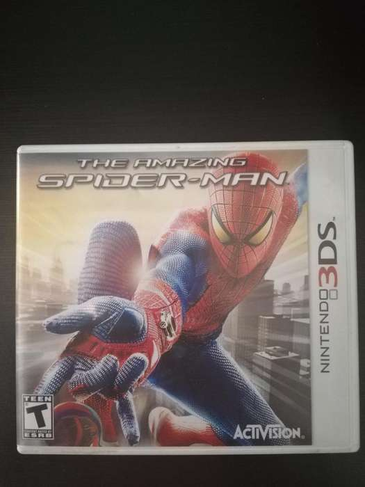 Spiderman Nintendo 3ds 10/10 Cambio o Vendo