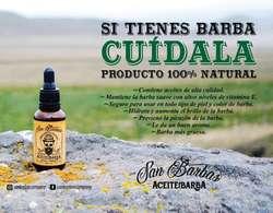 Aceite para Barba San Barbas de 30ml.