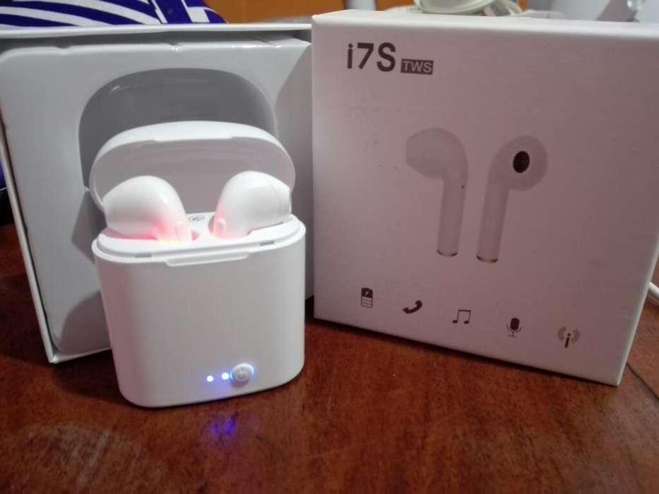 Auriculares Bluetooth i7s Tws Y Tdc